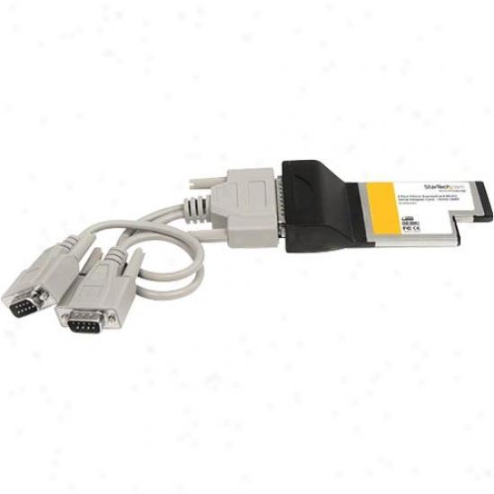 Startech 2 Larboard Expresscard Serial Adap