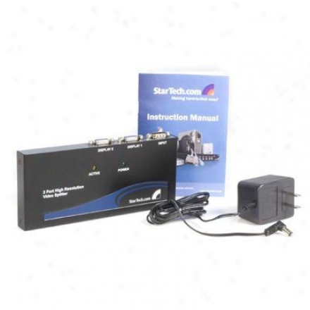 Startech 2-port Video Splitter/amp