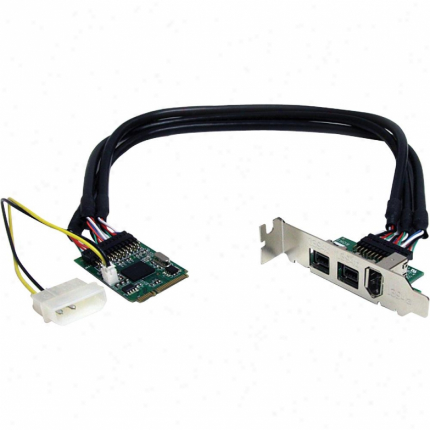 Startech 3-port Mini Pci Explicit Card