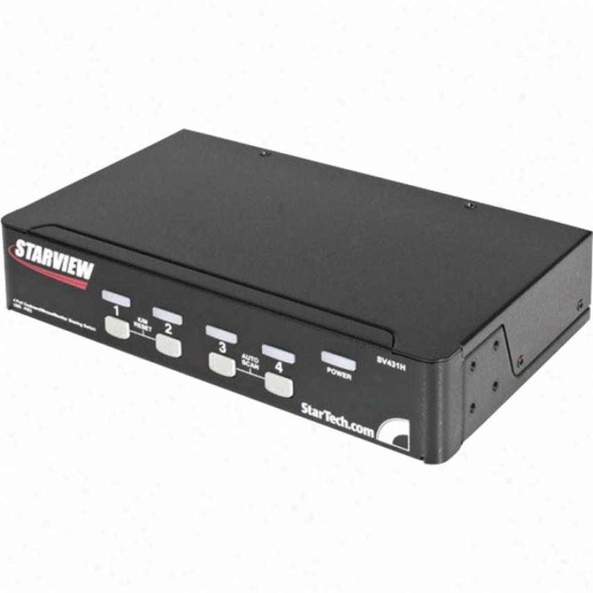Startech 4 Port Ps2/usb Kvm Switch