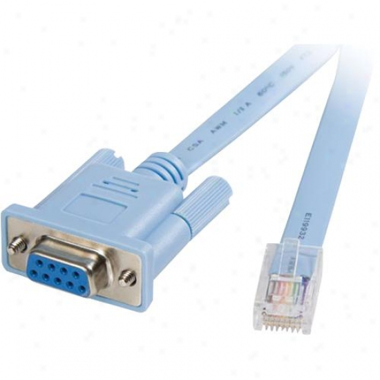 Startech 6' Rj45 To Db9 Router Cable
