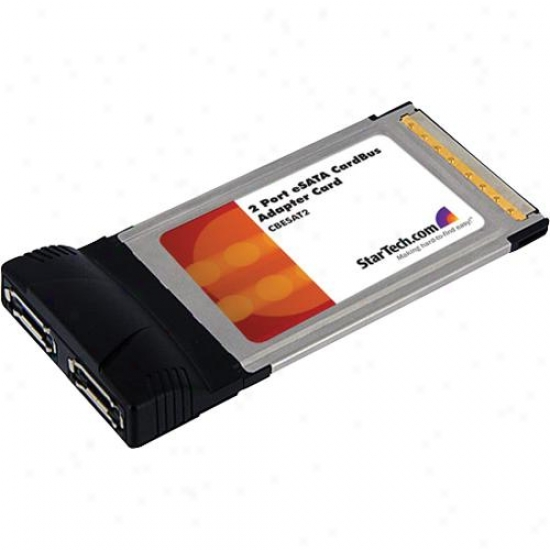 Startech Cardbus Esata Laptop Contoller