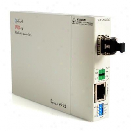 Startech Gb Rj45 To Mmode Lc Converter