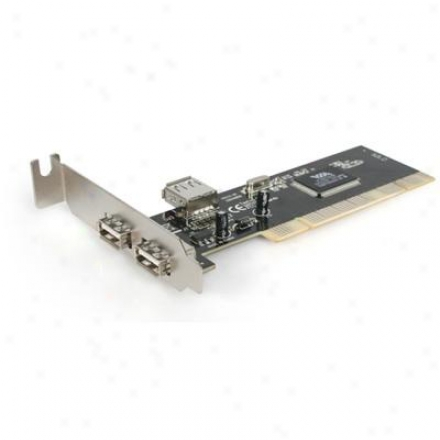 Startech Lp 2-port Usb 2.0 Pci Card