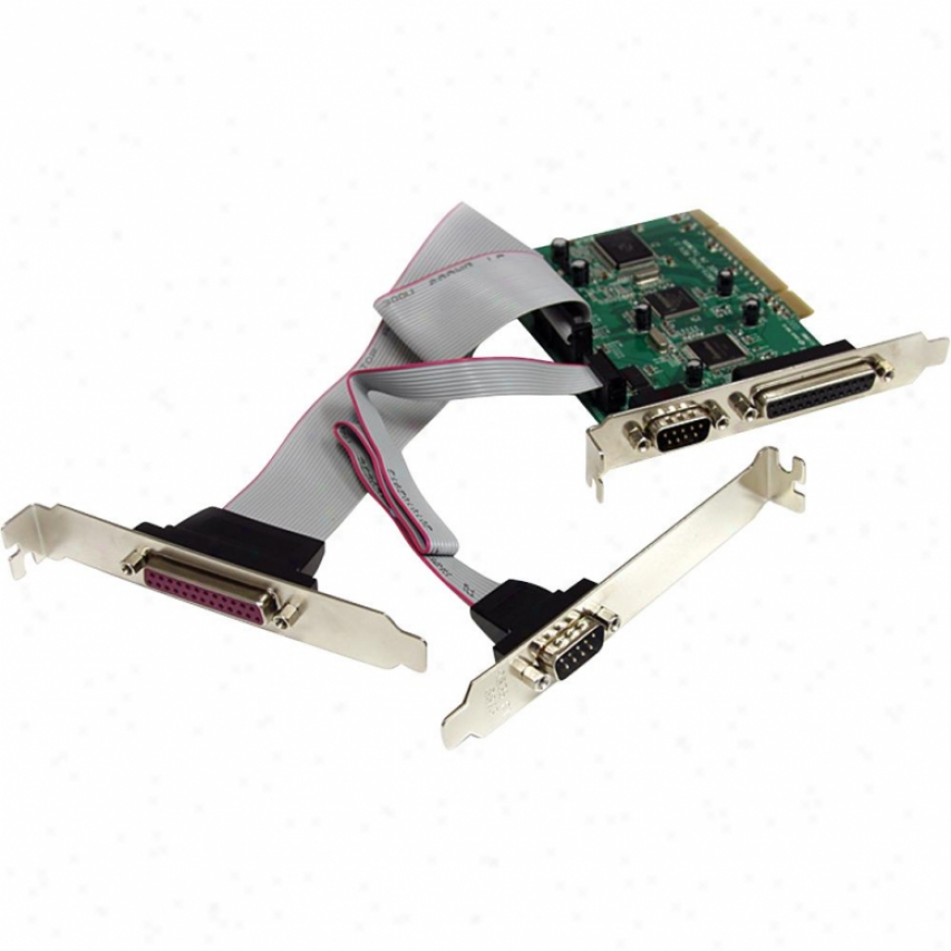 Startech Pci Serial Parallel Combo Card