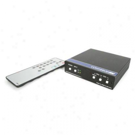 Startech S-video To Audio/hdmi Scaler