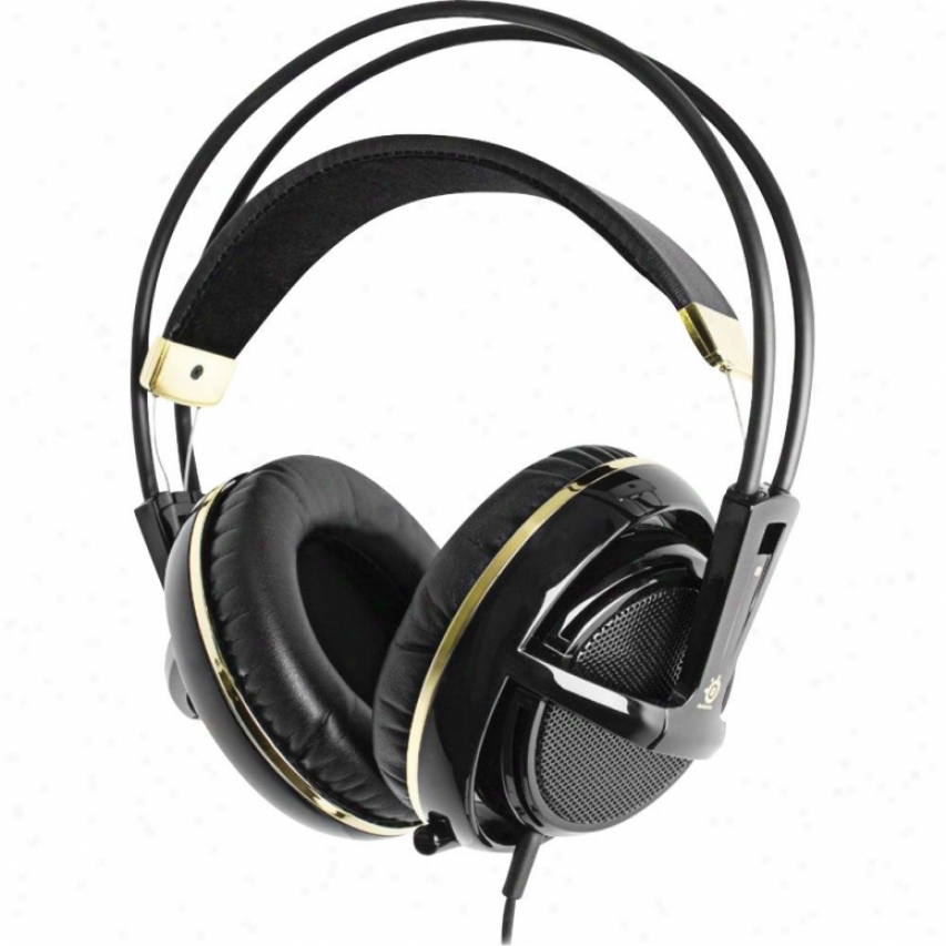 Steelseries Siberia V2 Game Headset - Black/gold