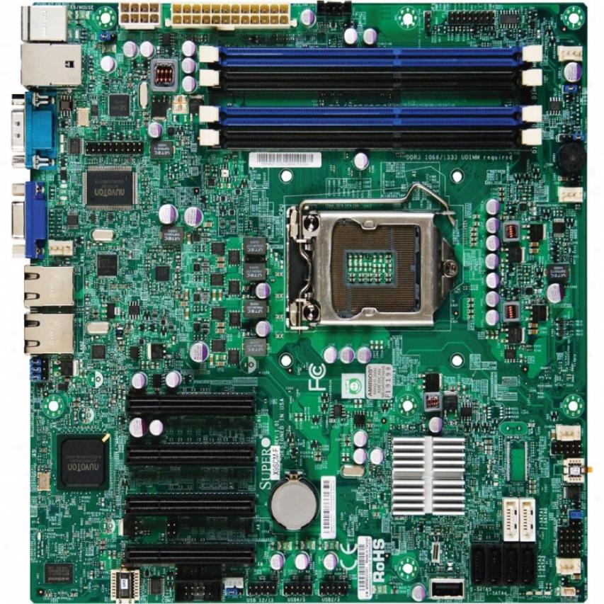Supermicro Xeon Motherboard E-1200