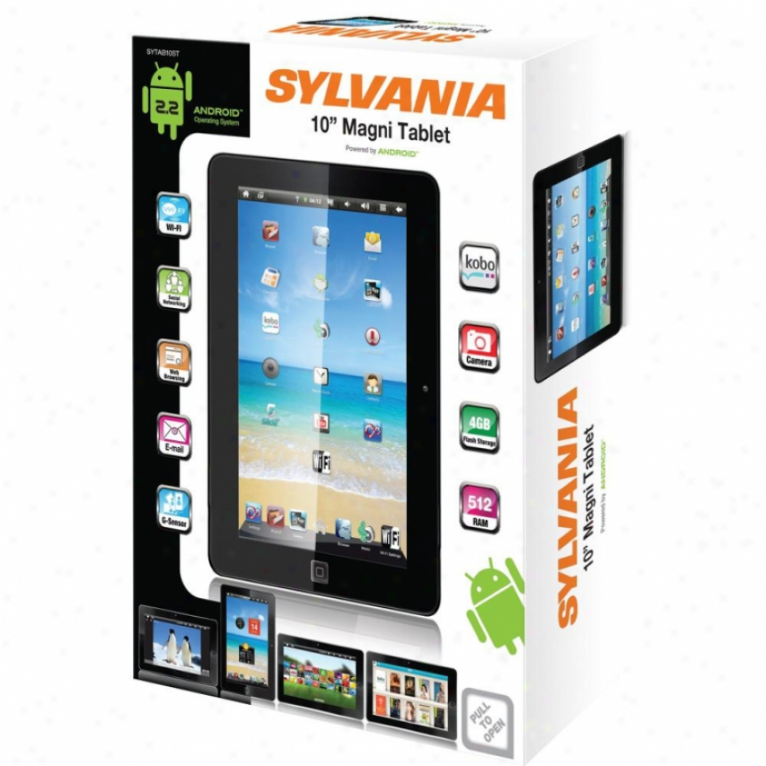 "Sylvania 10"" Touch Screen Magni Tablet - Sytab10st"