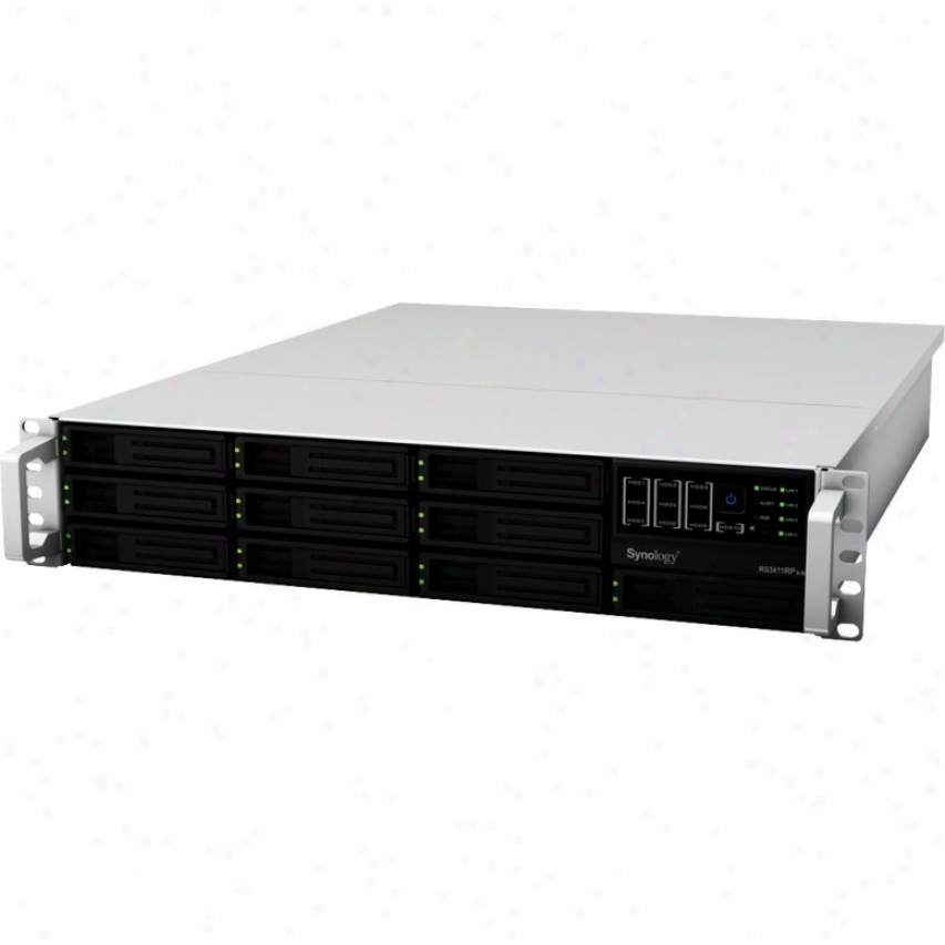 Synology Rackstation Rs3411rpxs 10-bay 2u Rackmount Nas Server - Diskless