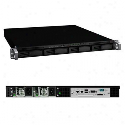 Systems Trading Rs810rp+ Scalable 4-bay All-in-1 Rackmounted Nas Server