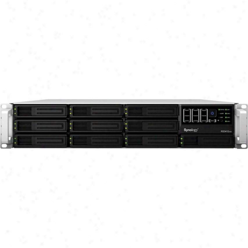Systems Trading Synology Rs3412xs Nas Server Rackstation - Diskless