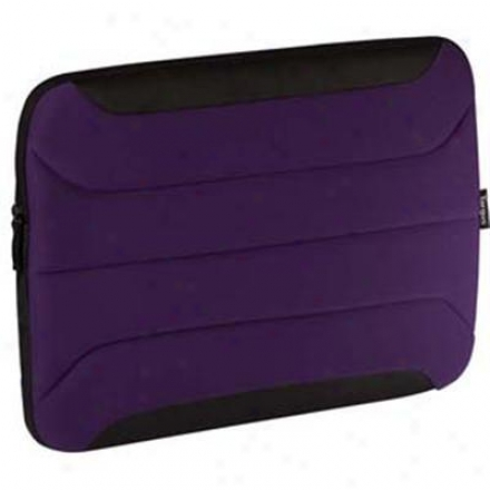 Targus 10.2-inch Zamba Netbook Sleeve - Purple - Tss13501us