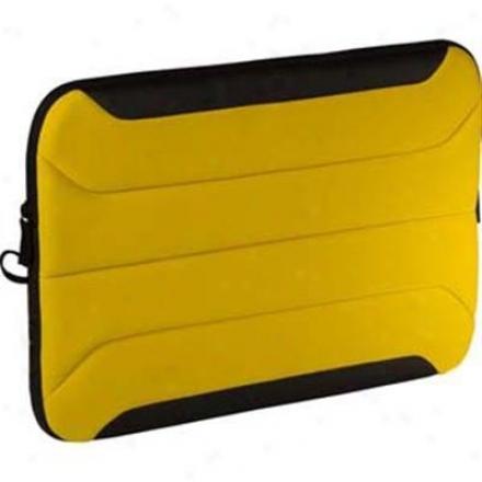 Targus 10.2-inch Zamba Netbook Sleeve - Yellow - Tss13502us