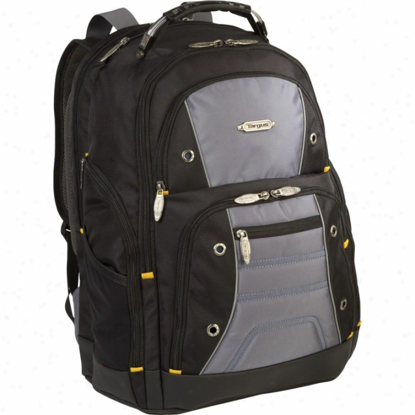 "Targus Drifter Ii 17"" Laptop Backpack - Black/gray - Tsb239us"