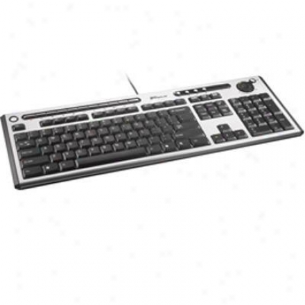 Targus Slim Internet Media Usb Keyboard Akb04us