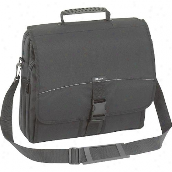 Targus Tcm004us 15.4-inch Computer Notebook Messenger Bag ( Black )