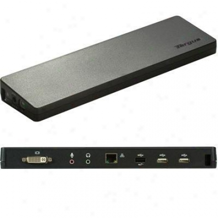 Targus Usb 2.0 Docking Place With Video Output Acp51usz