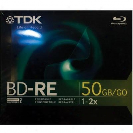 Tdk Bd-re 50gb 2x Blu-ray