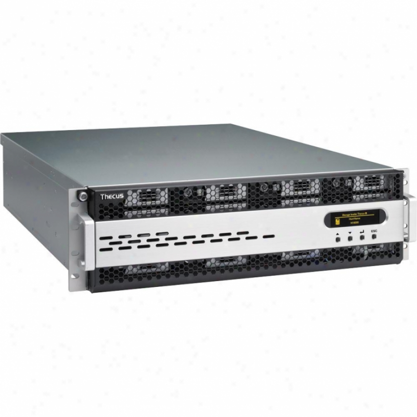 Thecus N1600 Enterprise Nas Server 3u Rackmount - Diskless