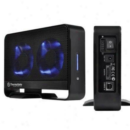 Thermaltake Max5 Hard Drive Enciosure Usb 2.0 Black St0021u
