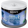 Sony Dvd+r Recordable Dvd Media (4.7gb) - 50-pacj Spnidle 50dpr47ls4