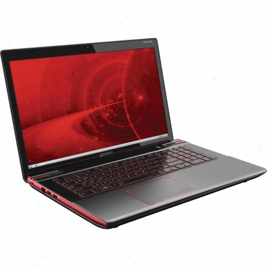 """Toshiba Qosmio X875-q7280 17.3"""" Notebook Pc - Black Widow"""