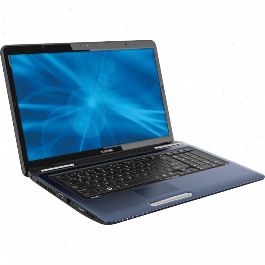 "Toshiba Satelte L775-s7350 17.3"" Notebook Pc - Aluminum Azure"