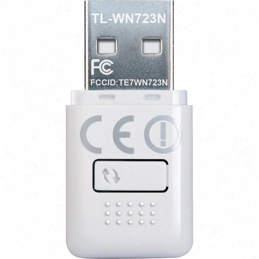 Tp--link 150mbps Mini Wireless N Usb Adapter - Tl-wn723n