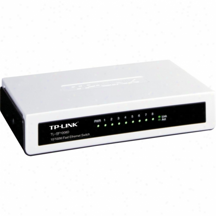 Tp-link 8-port 10/100mbps Mini Desktop Switch - Tl-sf1008d