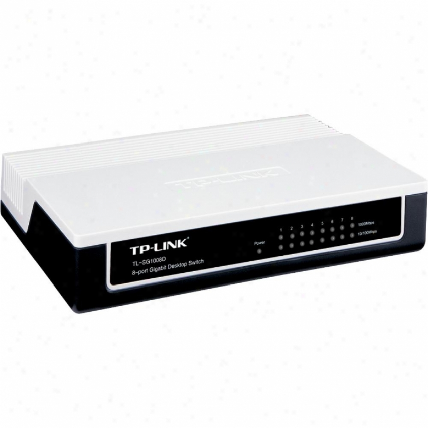 Tp-link 8-port Unmanaged Gigabit Desktop Switch - Tl-sg1008d