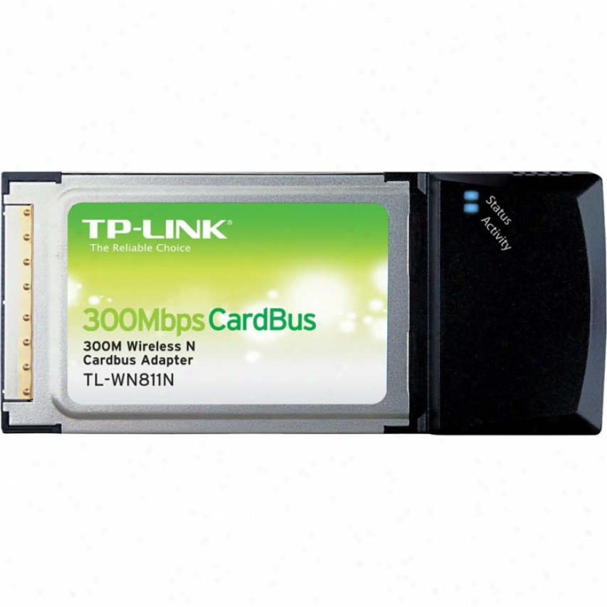Tp-link Tl-wn811n 300mbps Wireless N Cardbus Adapter