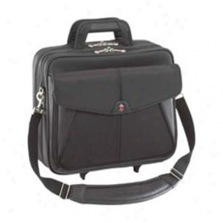 "Trademark Rlling 15.4"" Laptop Case - Black Tcr001us"