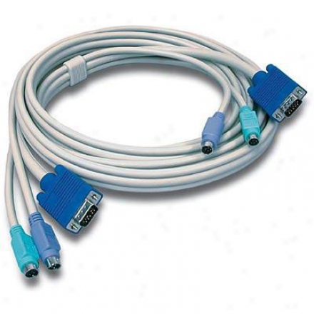 Trendnet 10' Kvm Cable(male-to-male)