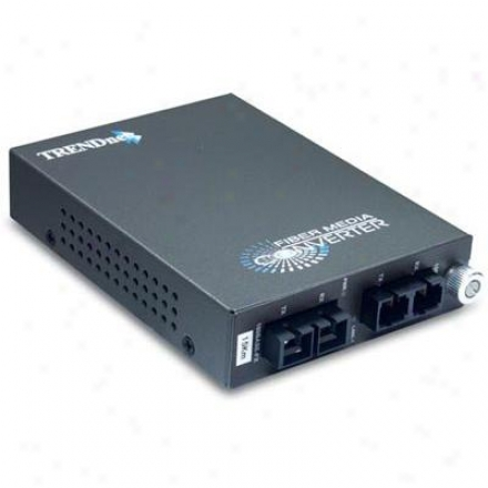 Trendnet 100base-fx Multi Mode To Single Fashion Fiber Converter