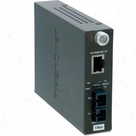 Trendnet 10/100mbps Tx To 100b-fx Convr