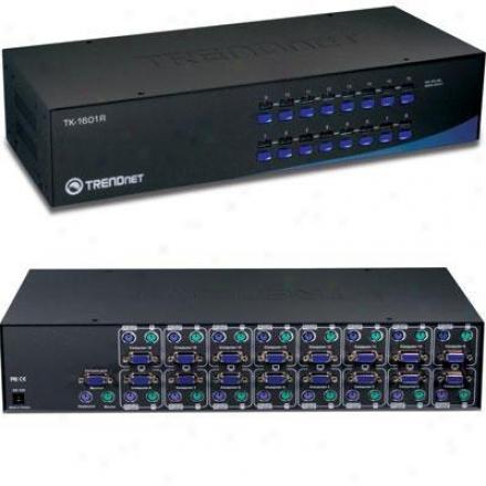 Trendnet 16-port Rack Mount Kvj Switch