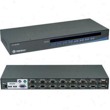 Trendnet 16-port Uzb Kvm Swt.rack Mount