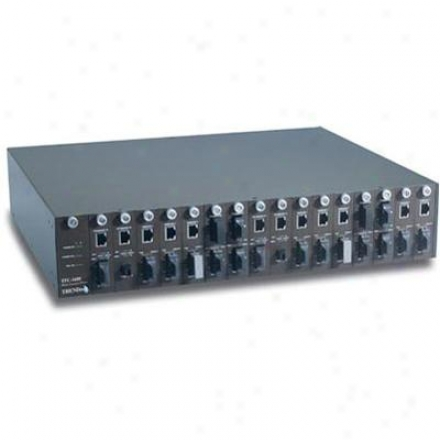 Trendnet 16 Slots Chassis System Conver