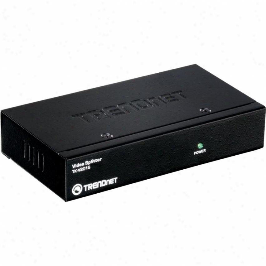 Trendnet 2-port Stackable Video Splttr