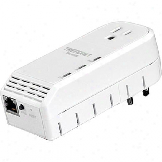 Trendnet 500mbps Powerline Av Adapter Kit - Tpl-402e