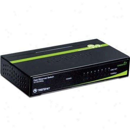 Trendnet 8-port 10/100mhps Green Switch