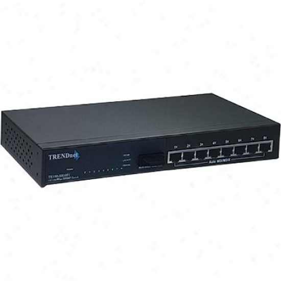 Trendnet 8-port 10/100mbps Layer 2 Managed Switch With 100base-fx Port