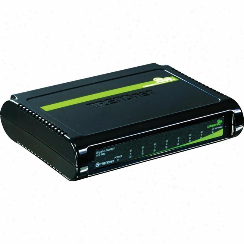 Trendnet 8-port Gigabit Greennet Switch Tegs8g