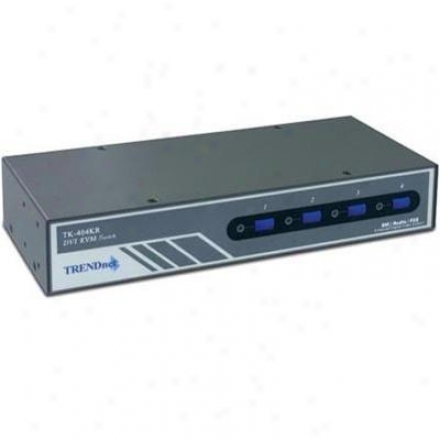 Trendnet Refurb 4-port Dvi/ps/2