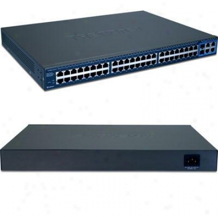 Trendnet Switch 48-port 10/100 Smart