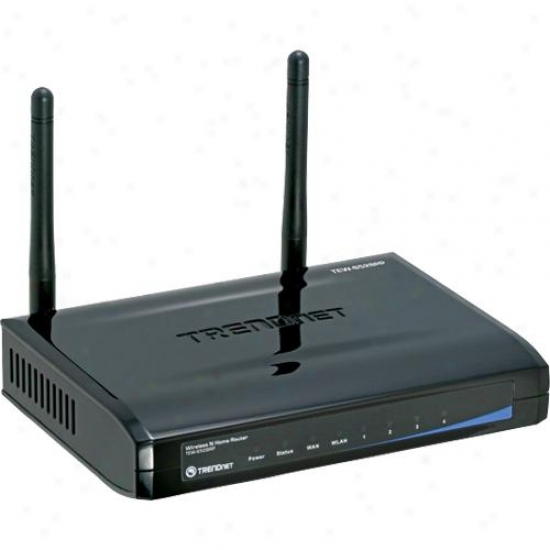 Trendnet Tew-652brp Wireless N Home Router - Refurbished