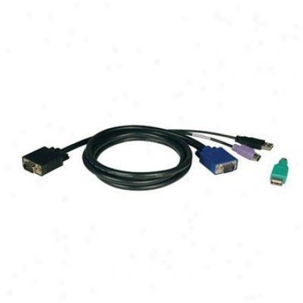 Tripp Lite 01' Ps2/usb Kvm Cable Kit