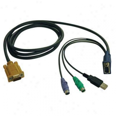 Tripp Lite 10ft Usb/ps2 Kvm Cable Kit
