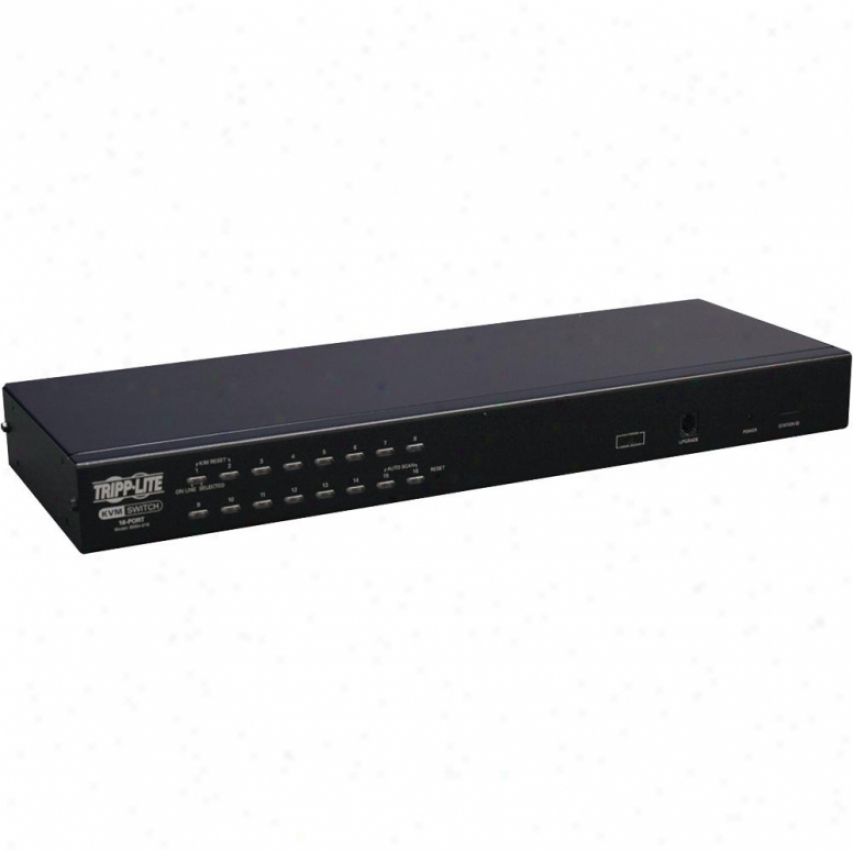 Tripp Lite 16-port 4-user Cat5 Kvm 1u Rm